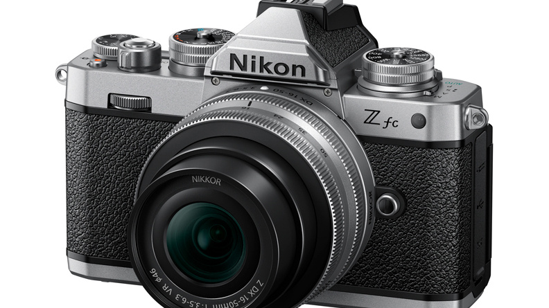 Nikon releases the Z fc DX-format mirrorless camera