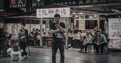 Chengdu China Streetscapes by Roman Wolczak