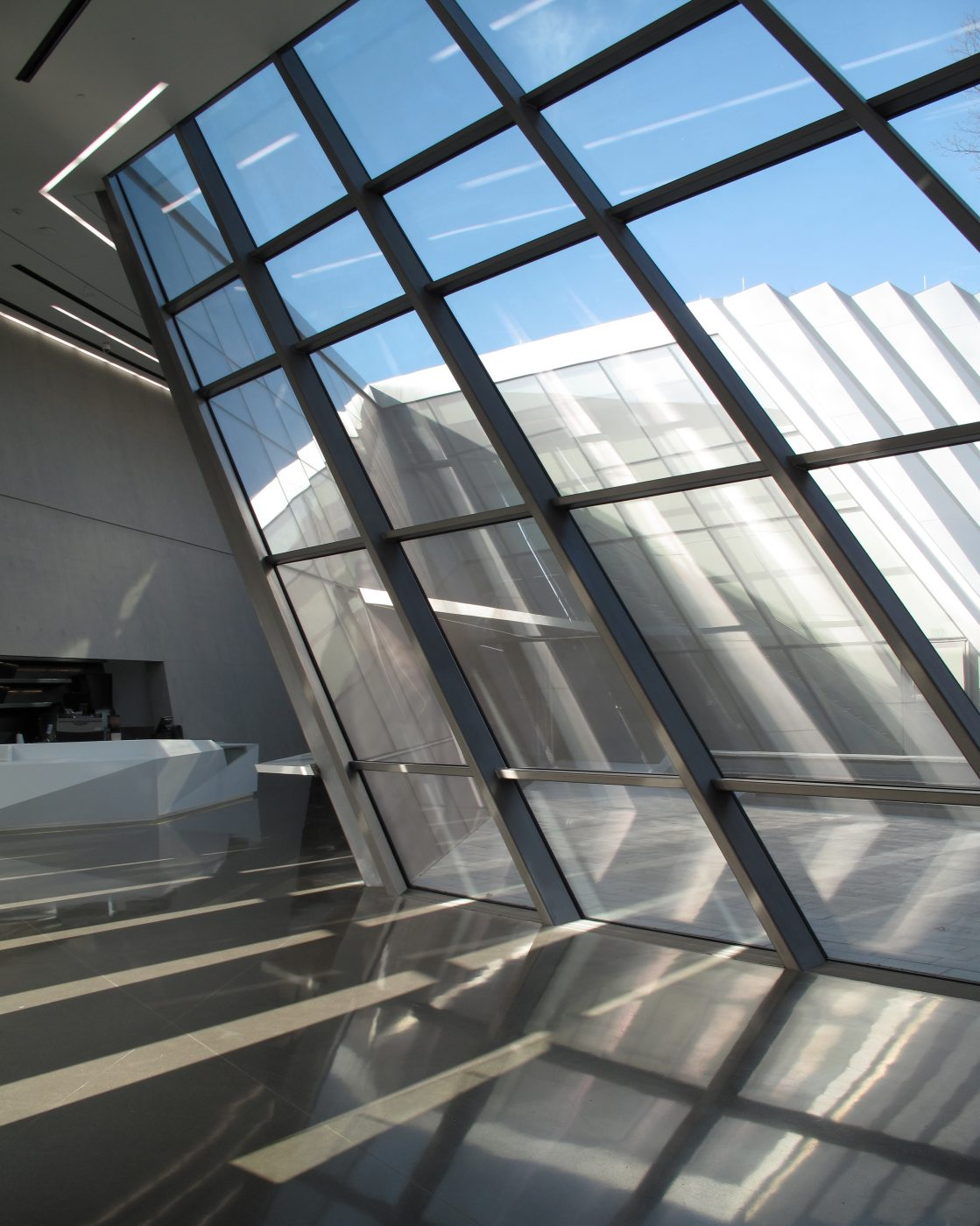 Eli & Edythe Broad Museum- ZHA- East Lansing, MI-photo by Paul Clemence