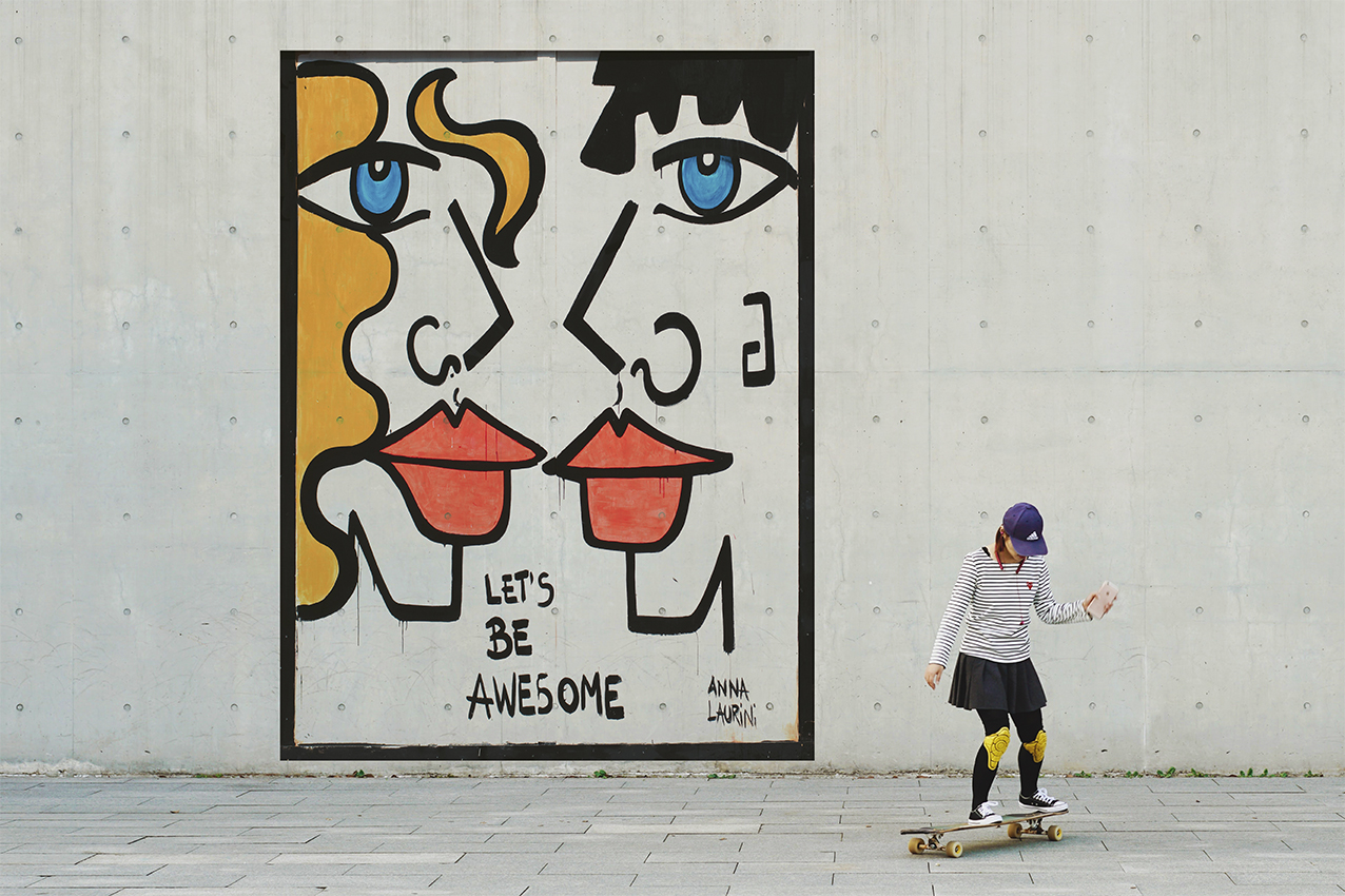 Let's Be Awesome by Hermann Fuchs