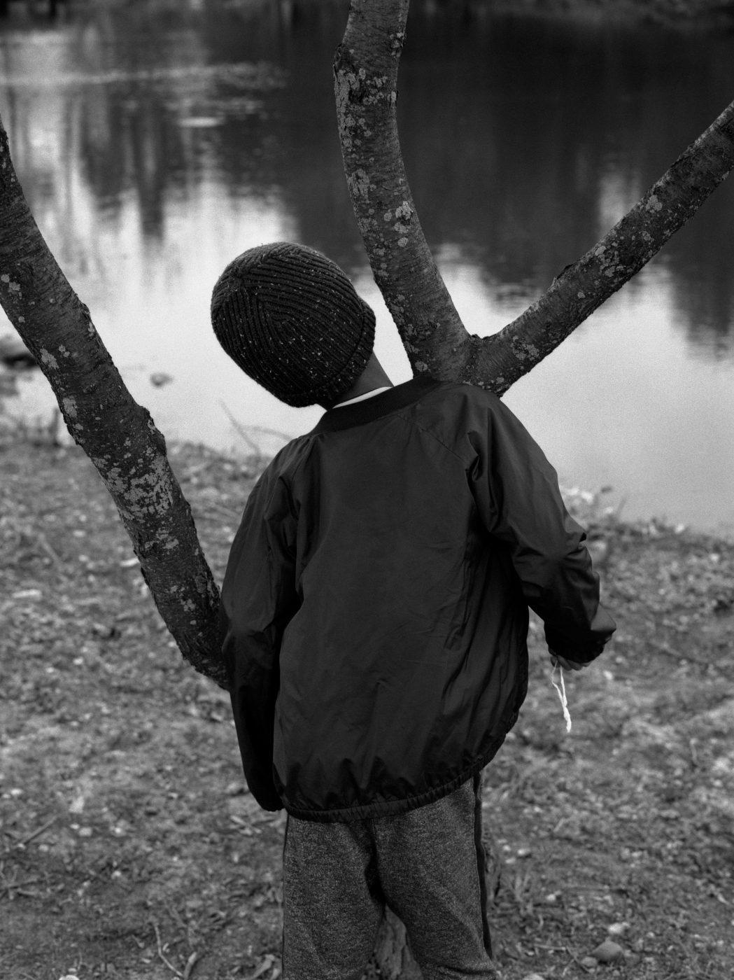 Boy and Tree by AL J Thompson