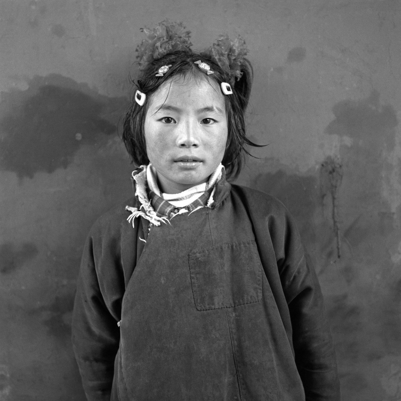 Larry-SNIDER-Young-Tibetan-Girl