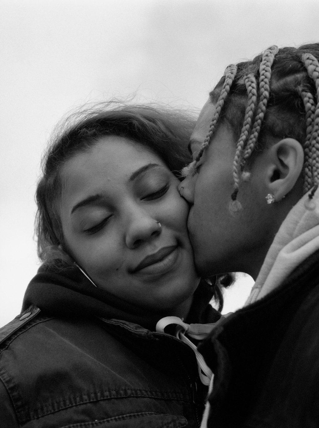 Lovers Kiss by AL J Thompson